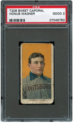 T206 Honus Wagner Good 2