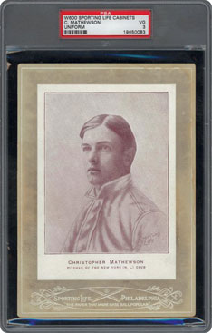 1902 Cabinets Christy Mathewson