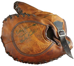 Babe Ruth igned Glove