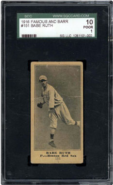 Babe Ruth Rookie