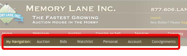 previous site user navigation