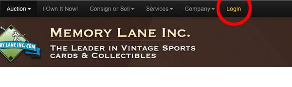 new site login location